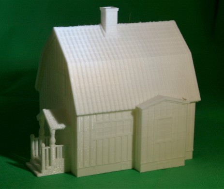 Swedish house, 3D Druck